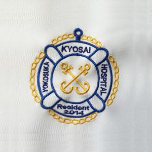 白衣 刺繍1