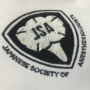 白衣 刺繍2