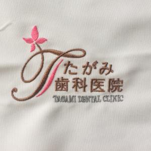 スクラブ・白衣 刺繍4