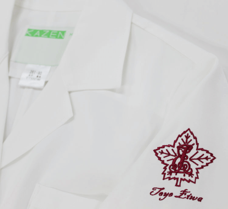 白衣 刺繍04