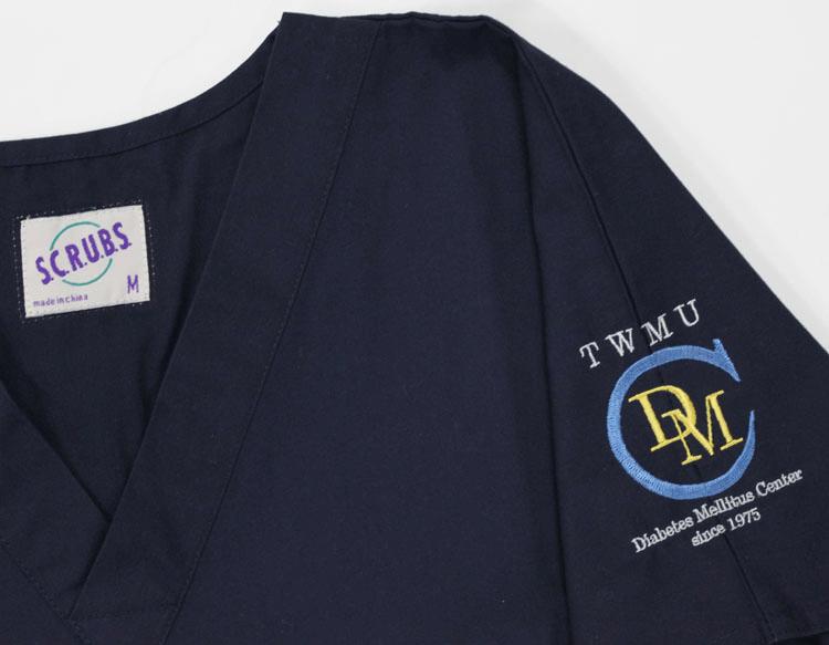 スクラブ・白衣 刺繍08