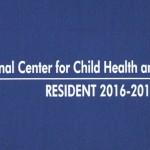 National Center for Child Health and Development RESIDENT 2016-2018